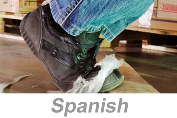 Preventing Slips, Trips and Falls (Spanish)
