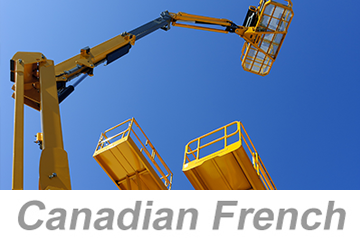 Aerial and Scissor Lifts - Global (Canadian French)