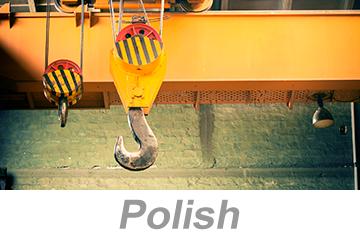 Overhead and Gantry Crane Safety (Polish)