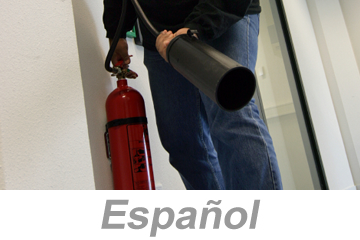 Fire Extinguisher Safety (Spanish)