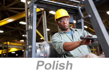 Powered Industrial Trucks - Operators Overview (Polish)