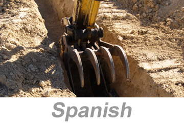 Excavation and Trenching Safety (Spanish)