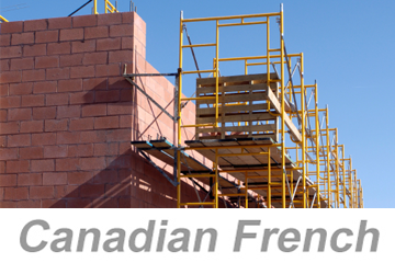 Scaffold Safety Awareness (Canadian French)