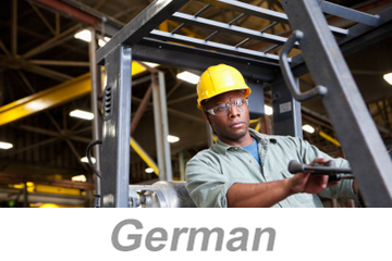 Powered Industrial Trucks - Operators Overview (German)