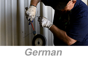 Bench Grinder Safety (German)