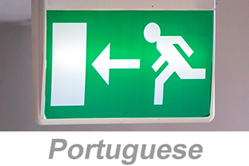 Egress and Emergency Action Plans (Portuguese)