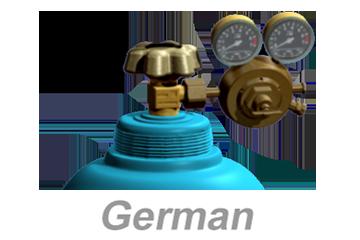 Compressed Gas Cylinder Safety - International (German)