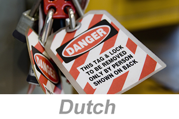 Lockout/Tagout (Dutch)