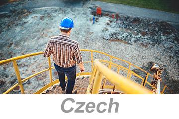 Walking/Working Surfaces (Czech)
