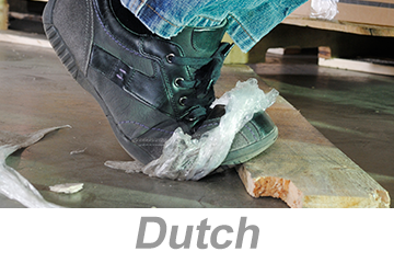 Preventing Slips, Trips and Falls - Global (Dutch)