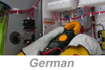 Recognizing Electrical Hazards Awareness (German)