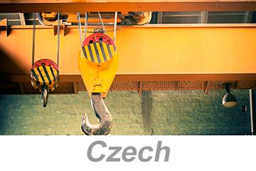 Overhead and Gantry Crane Safety (Czech)