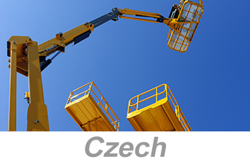Aerial and Scissor Lifts - Global (Czech)
