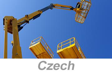 Aerial and Scissor Lifts - Global (Czech)