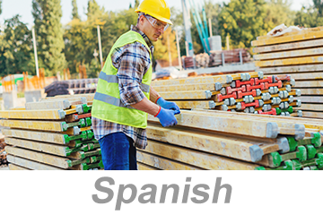Stacking and Storage Practices for Construction (Spanish)