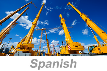 Complete Your OSHA Outreach Courses Crane Operator Safety (Spanish) online safety training course today! Available online anytime, from anywhere | OSHA Authorized training courses.