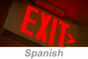 Egress and Emergency Action Plans (Spanish)