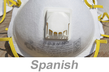 Dust Mask - Voluntary Use Guidelines (Spanish)