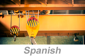 Overhead and Gantry Crane Safety (Spanish)