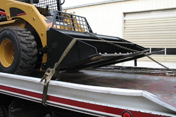 Load Securement for Heavy Equipment