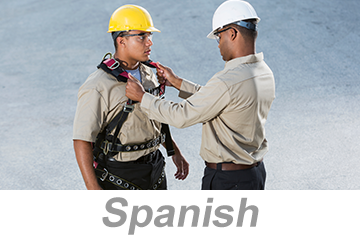 Personal Protective Equipment (PPE) Overview for Construction: Using and Maintaining PPE (Spanish)