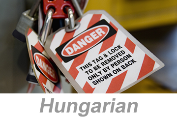 Lockout/Tagout (Hungarian)