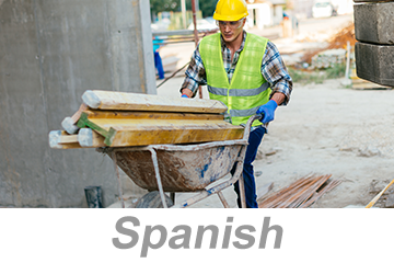 Material Handling Practices for Construction (Spanish)