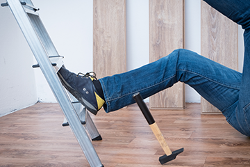 Preventing Slips, Trips and Falls: Using Equipment Correctly