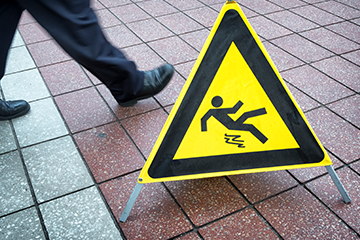 Preventing Slips, Trips and Falls: Definitions and Precautions