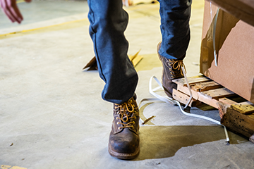 Preventing Slips, Trips and Falls: Keeping Work Areas Safe