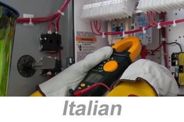 Recognizing Electrical Hazards Awareness (Italian)