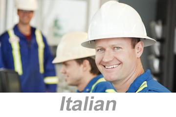 Hazardous Chemical Information (Italian)