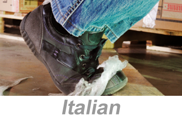 Preventing Slips, Trips and Falls (Italian)
