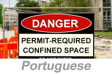 Confined Spaces: Permit-Required (Portuguese)