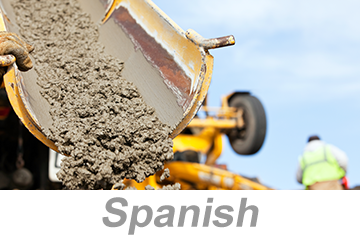 Concrete and Masonry Awareness (Spanish)