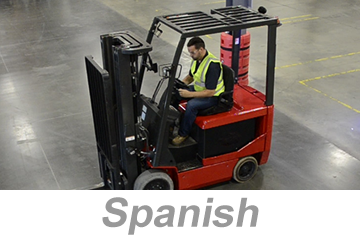 Powered Industrial Trucks, Modules 1-3 (Spanish)