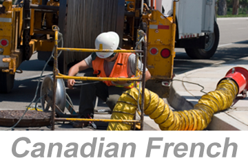 Confined Space Hazards (Canadian French)