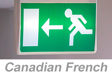 Egress and Emergency Action Plans (Canadian French)