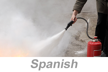 Fire Extinguisher Safety Awareness (Spanish)