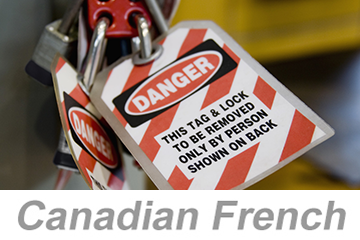 Lockout/Tagout (LOTO) (Canadian French)