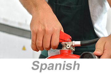 Fire Extinguisher Safety for Construction, Parts 1-2 (Spanish)