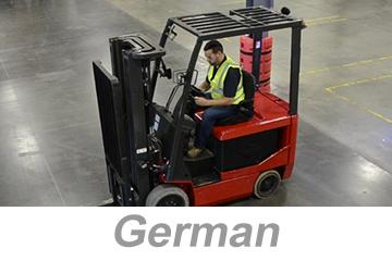 Powered Industrial Trucks, Modules 1-3 (German)