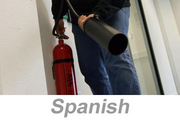 Fire Extinguisher Safety Parts 1-2 (Spanish)