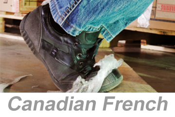 Preventing Slips, Trips and Falls (Canadian French)