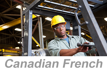 Powered Industrial Trucks - Operators Overview (Canadian French)