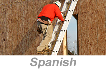 Ladder Safety for Construction, Parts 1-2 (Spanish)