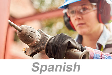 Hand and Power Tool Safety for Construction, Parts 1-2 (Spanish)