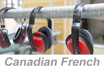 Hearing Conservation (Canadian French)