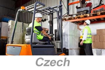 Materials Handling and Storage (Czech)