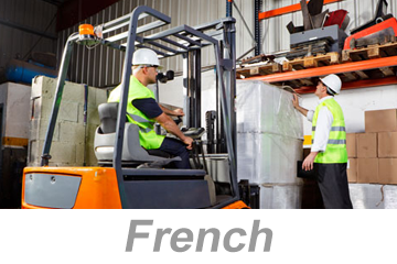 Materials Handling and Storage (French)